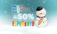 Zimska akcija u Obrazovnom centru Esperanto