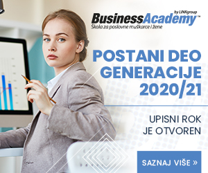 BusinessAcademy - POSTANI DEO GENERACIJE 2020/21